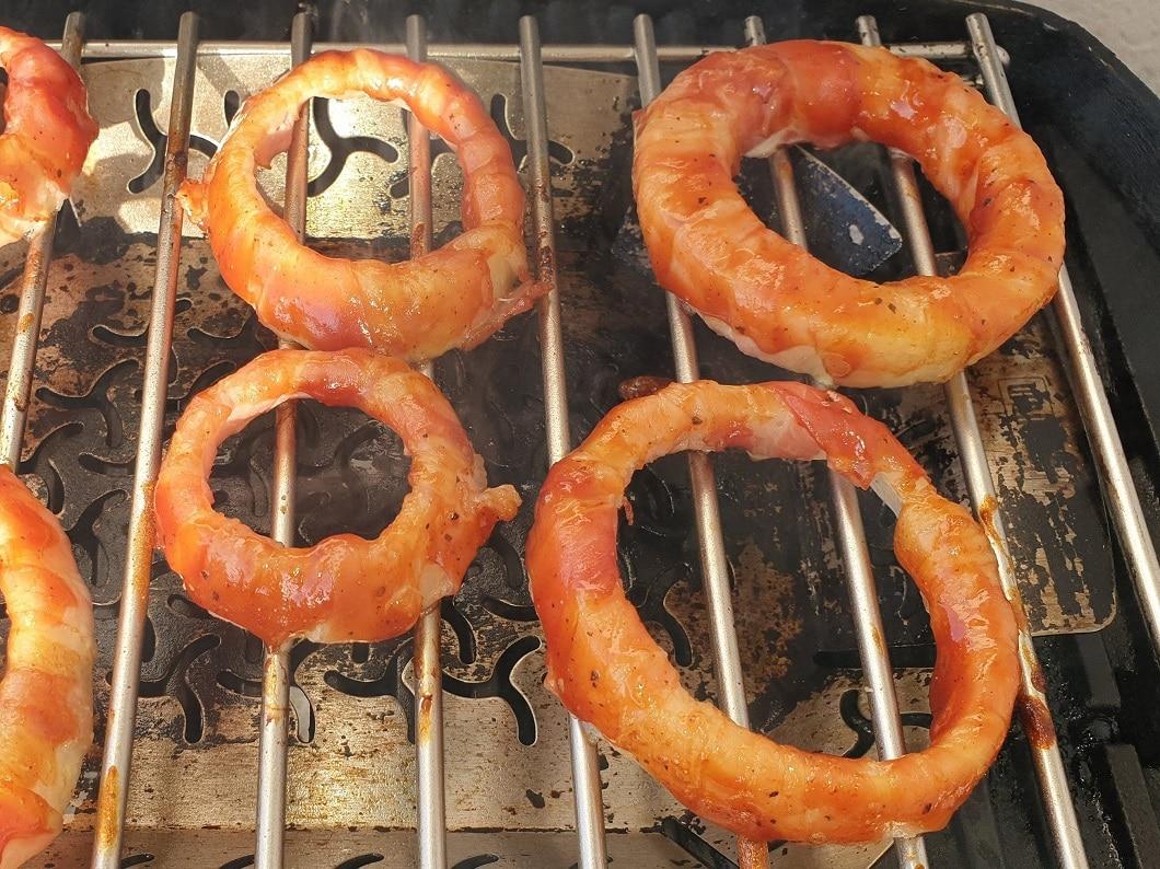 Bacon Zwiebelringe